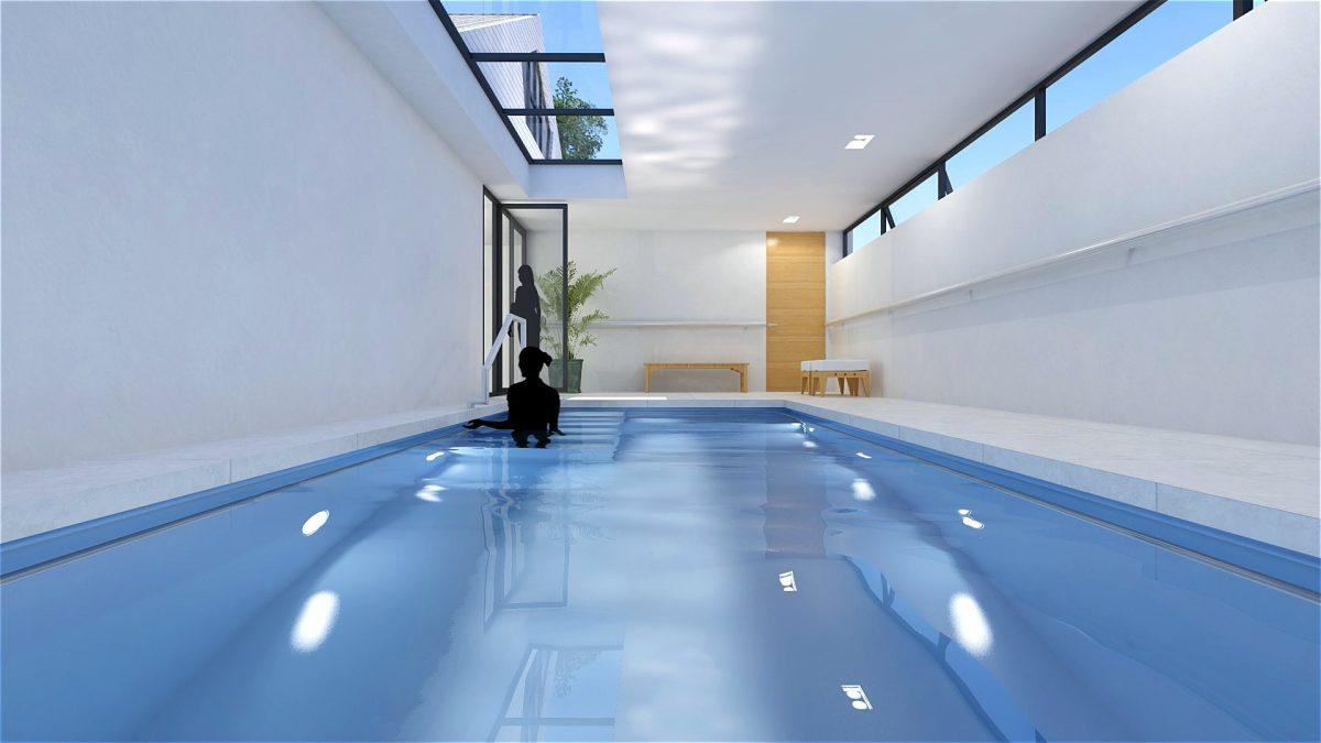 JURY! ontwerpt binnenzwembad aan woning