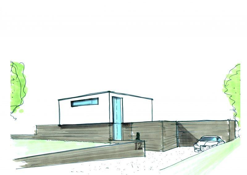 JURY! ontwerpt andermaal een moderne villa in het Westland