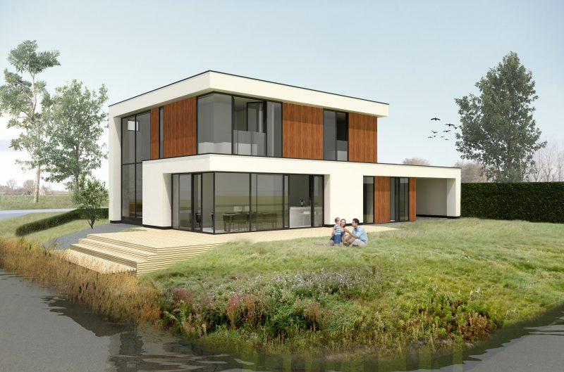JURY! zet voet aan de grond in Noord-Holland en ontwerpt duurzame moderne villa