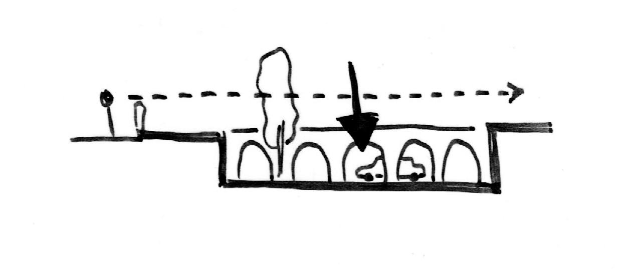 Concept Verzonken Tuin