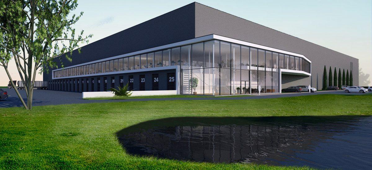 JURY! ontwerpt hoofddistributiecentrum de Bommel in Dordrecht en daarmee zijn eerste grote utiliteitsbouwproject