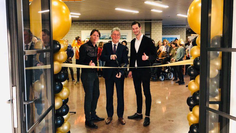 Feestelijke opening van het Werkcafé in het stadhuis van Maassluis