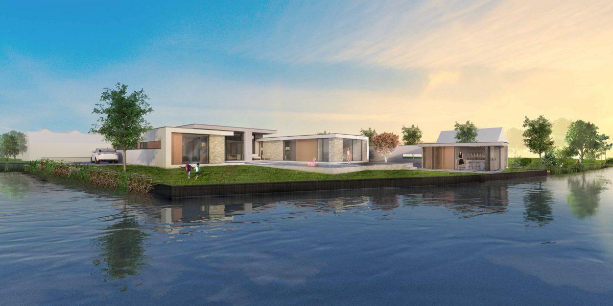 JURY! ontwerpt modernistische Villa in Westlandse Polder