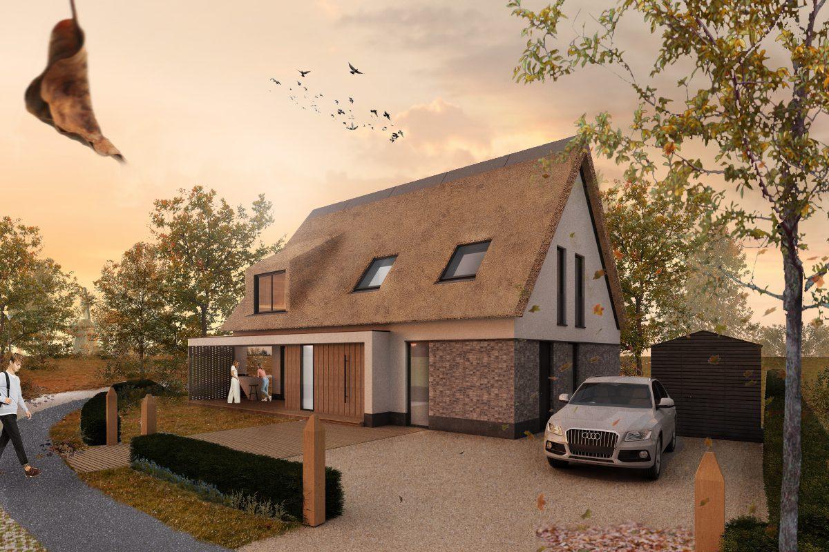 JURY! ontwerpt vierde vrijstaande nieuwbouwwoning in Wilgenrijk, Maassluis en ontvangt omgevingsvergunning