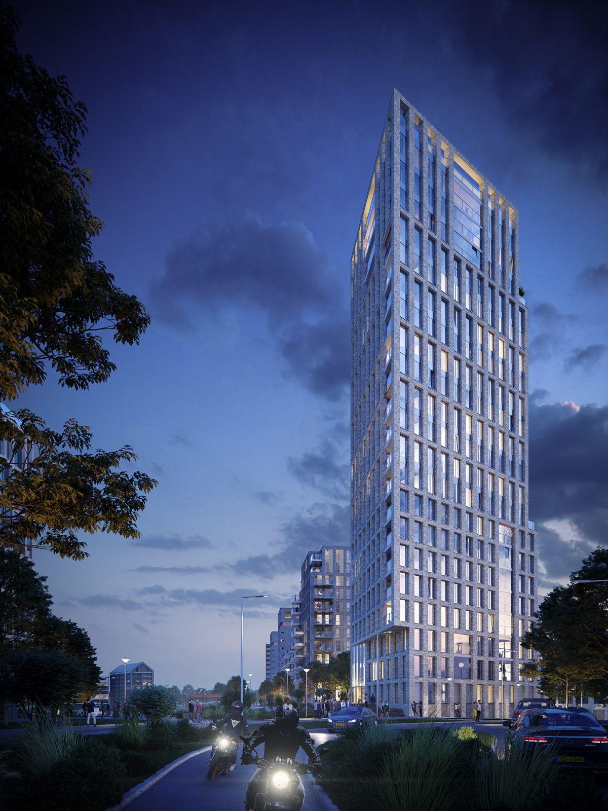 BIG NEWS: JURY! Ontwerpt iconische toren en twee woongebouwen aan de Waal in Nijmegen